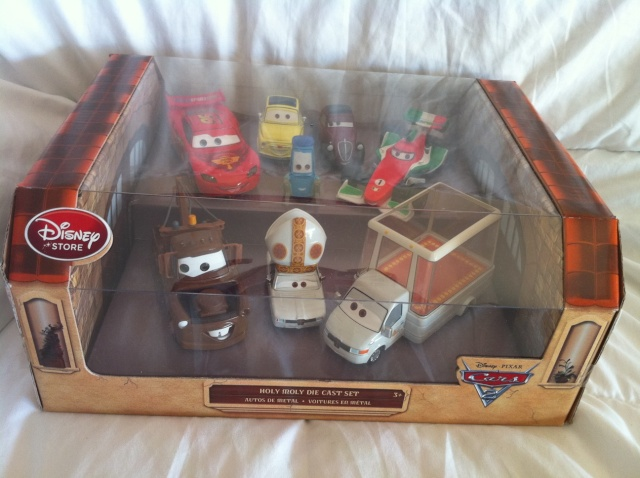 [DS] Petite collection Cars 2 Disney Store Pack_p11