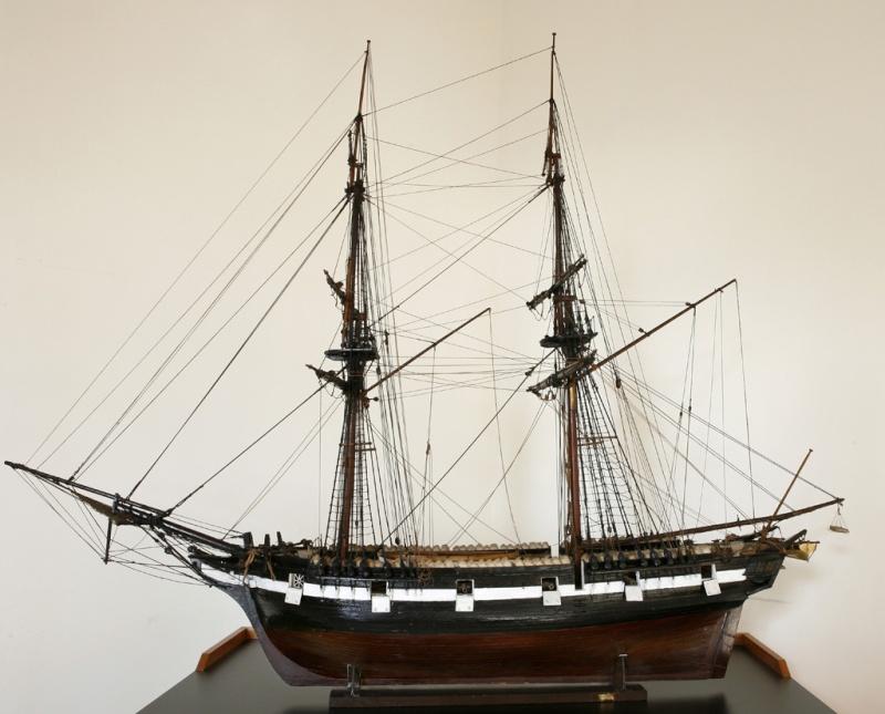 restauration une corvette aviso (1832-1840) Brigan10