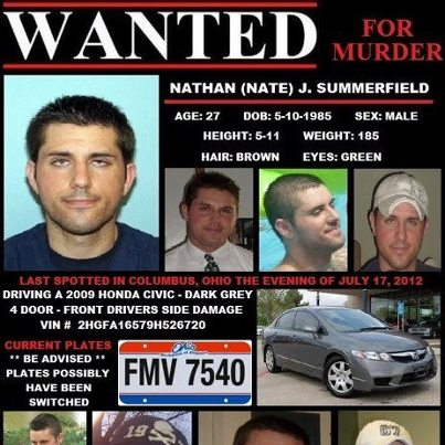 Lynn Jackenheimer, Allegedly Strangled During Vacation/ Ex-boyfriend Nathan Summerfield, 27, admitted strangling her & is MIA. Update: 08/14: Now in Custody!/Body found near where she disappeared on Outer Banks of NC/Body confirmed to be Lynn. Wanted10