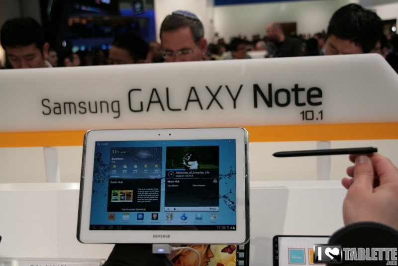 Galaxy Note Tablet10