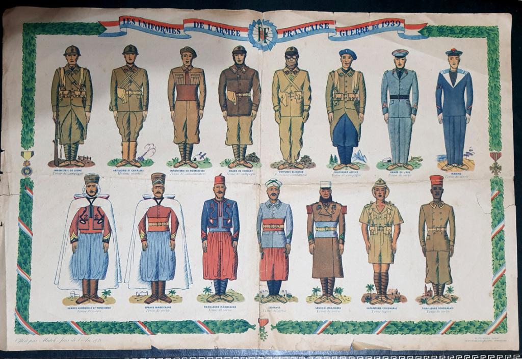 Planches Armée Française 20201227