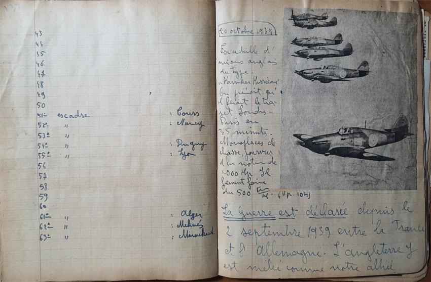 Cahier d'un fana de l'aviation 20201257