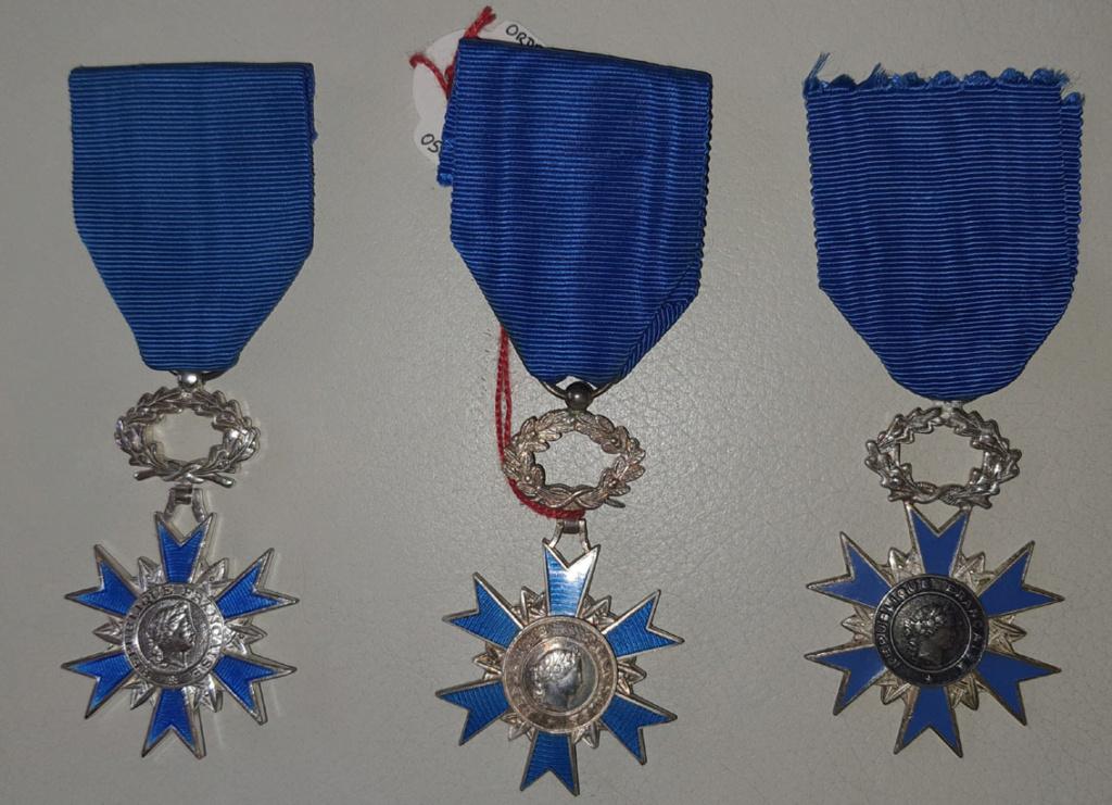 Médailles de chevalier de l'ONM 20210913