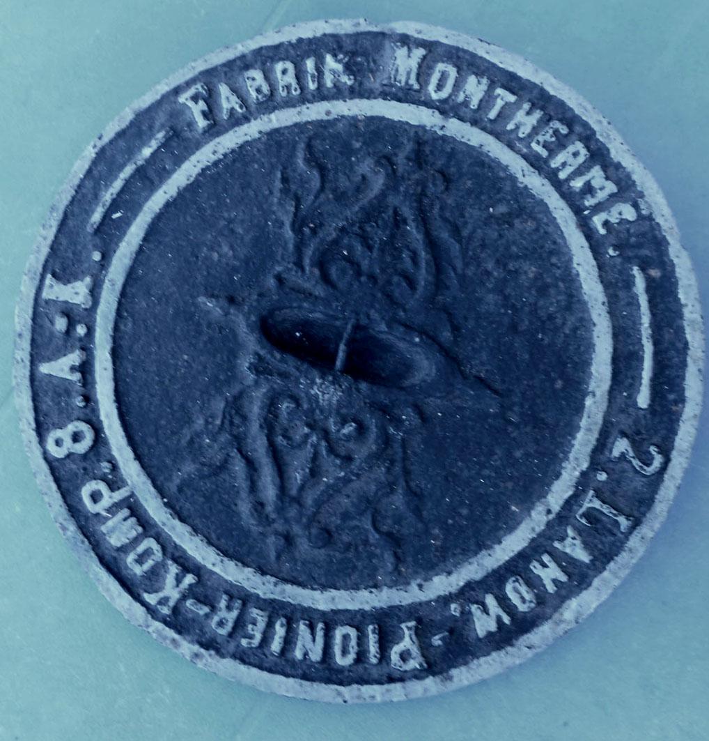 """Tirelire montherme """"welt-krieg 1914-1917"""" Monthe10"""