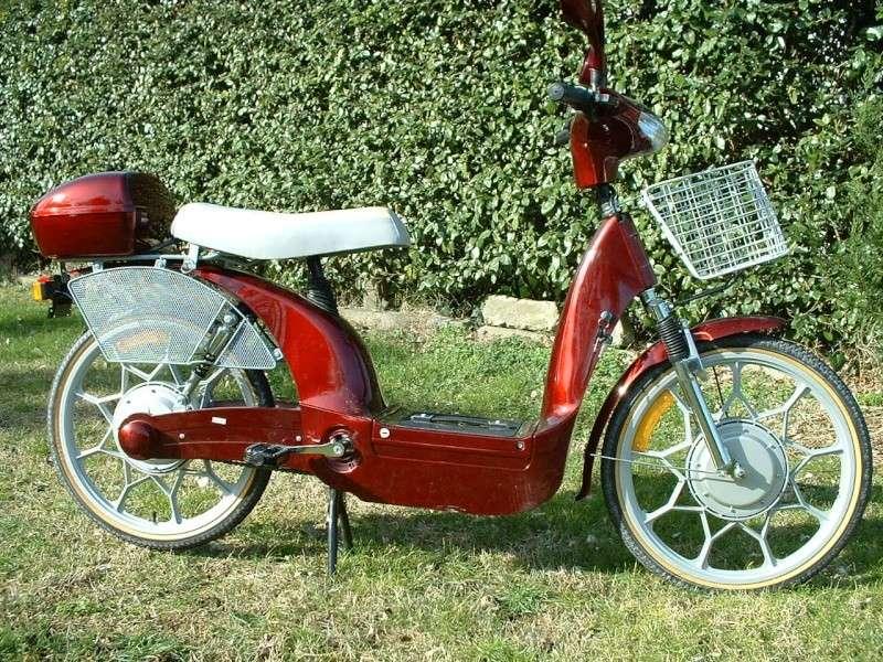 vélomoteur Electrique Dscf0010
