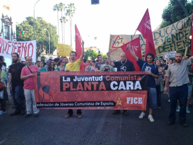 [FJCE-Estado Español] 22 de Mayo: Trabajadores y estudiantes, ¡unidos y adelante!  40352610