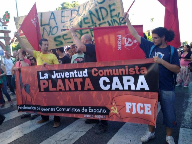 [FJCE-Estado Español] 22 de Mayo: Trabajadores y estudiantes, ¡unidos y adelante!  56437610