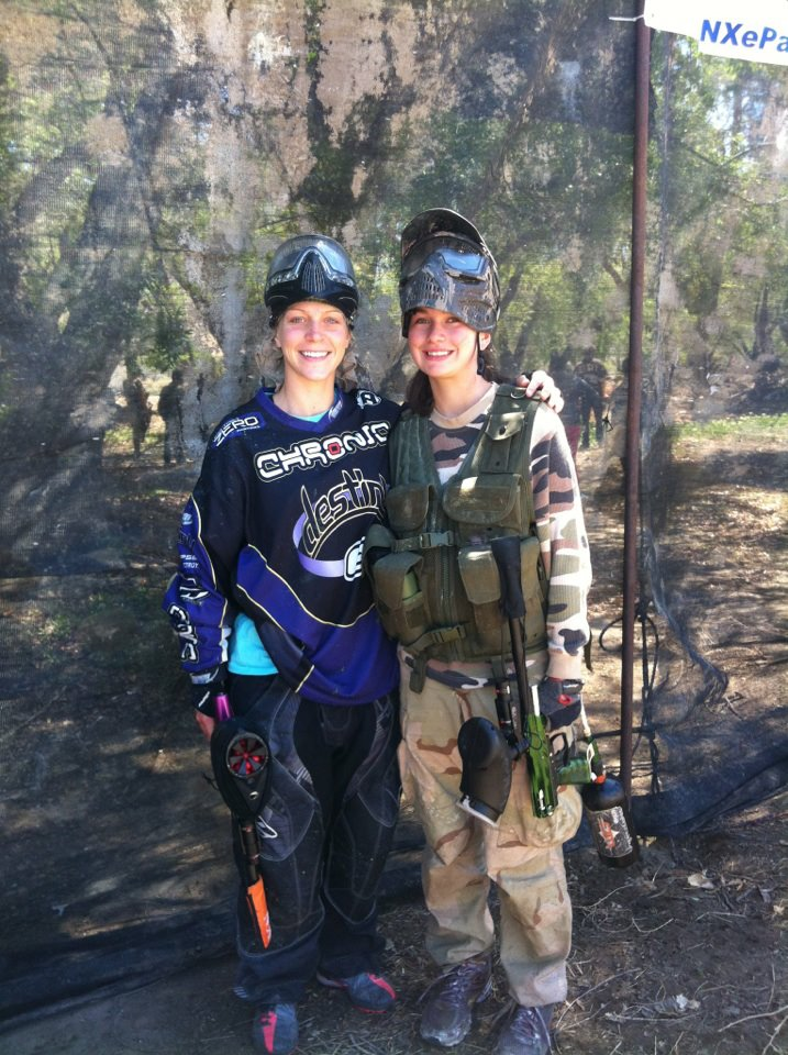 le paintball au féminin 42792110