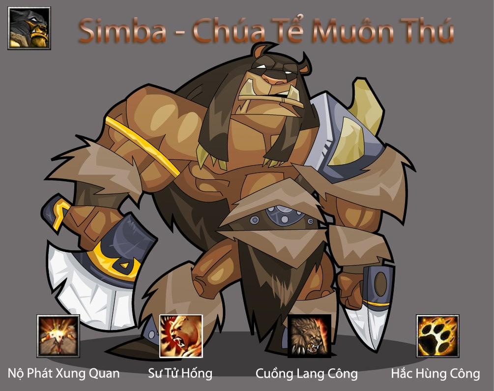 [Guide]Chúa tể muôn thú – Simba : Hero toàn diện Dota_a20
