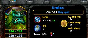 [Guide chọn lọc] Kraken - Thủy Quái  Lv11010