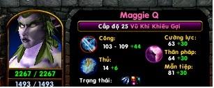 [Guide]Maggie Q-Vũ Khí Khiêu Gợi ( New version) Lv2510