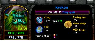 [Guide chọn lọc] Kraken - Thủy Quái  Lv251010