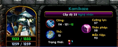 [ Guide Chọn Lọc ] Kamikaze - Nghệ Nhân by fuangel1102 Lv25_b16