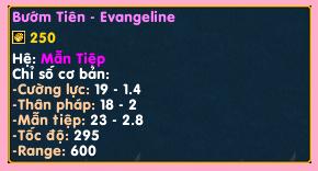 [Guide]Bướm tiên - Evangeline : Tốc độ là sức mạnh Ts11