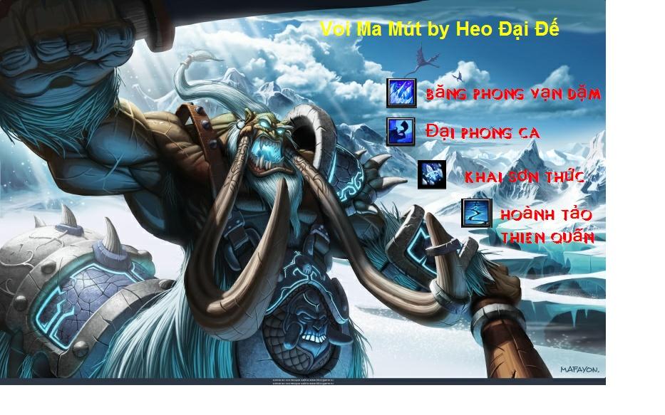 [Guide chọn lọc] Savage Tidus - Voi Ma Mút by Heo Đại Đế Voimam11