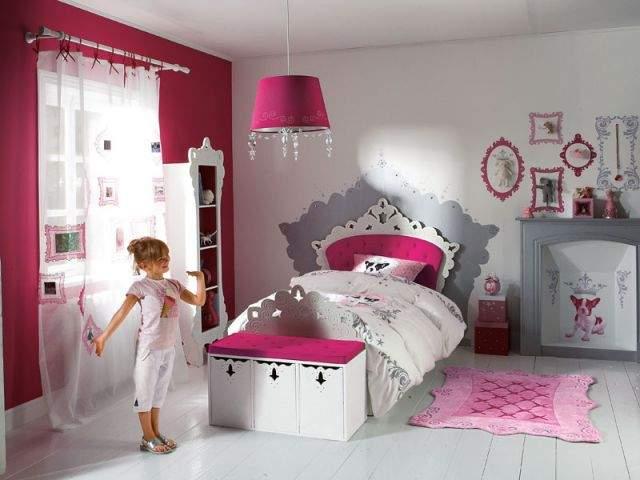 Chambre Fille Ado Rose Et Gris Beautiful Chambre Fille Beige Et