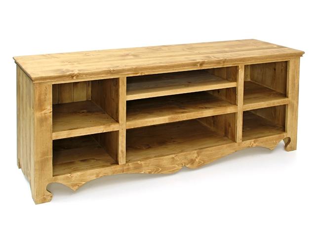 fabriquer soi meme un meuble tv en planche de pin brut. Black Bedroom Furniture Sets. Home Design Ideas