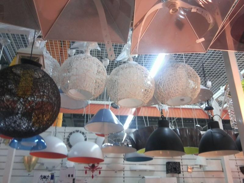 Salon de Melba fin de la recherche les luminaires sont trouvés et posés !photos p2 et 3 Photo122