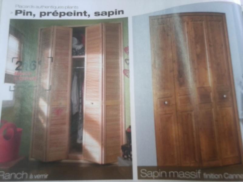 Remplacer une porte isoplane par une porte accordéon en bois Photo165