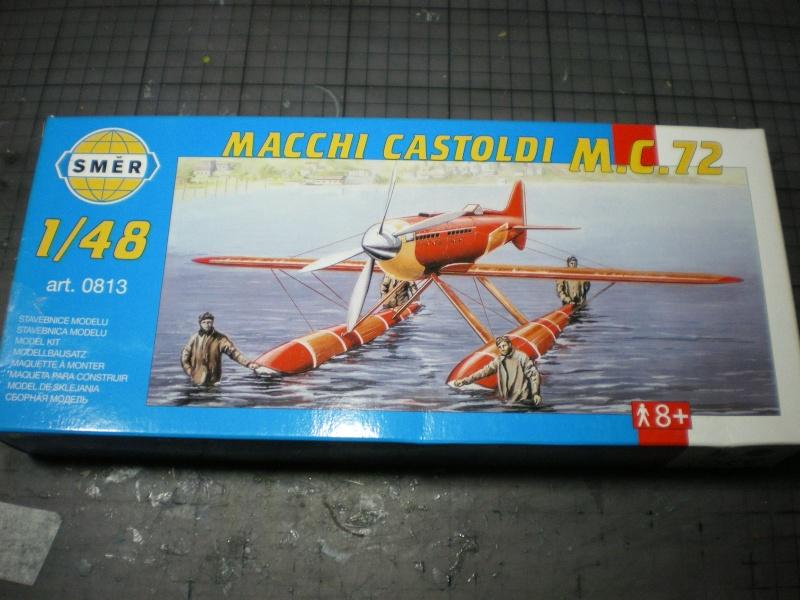 macchi castoldi m c 72 au 1/48 Hydrav27