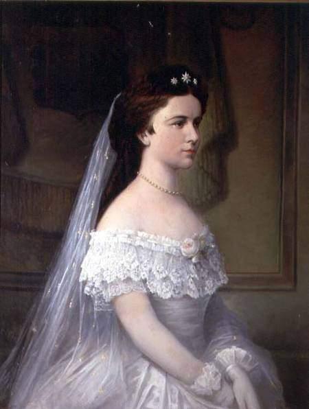 Robe de l'impératrice Elisabeth d'Autriche ( Sissi ) 2411