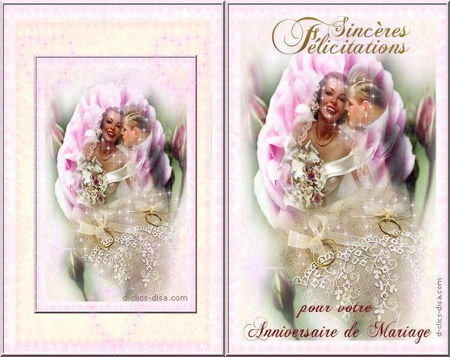 Anniversaire De Mariage A Mes Amis