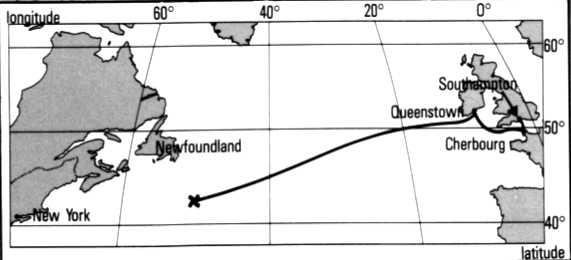 L'histoire du Titanic Carte11
