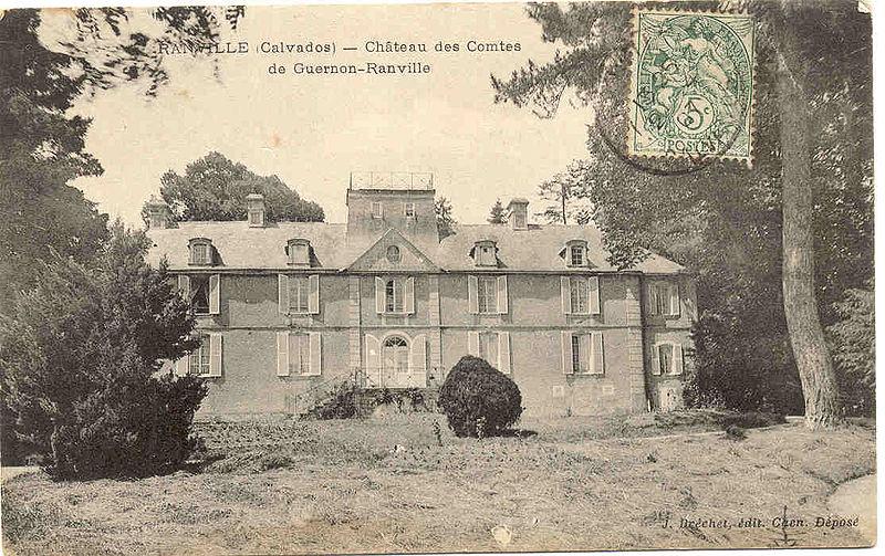Les chateaux du Calvados Carte_12