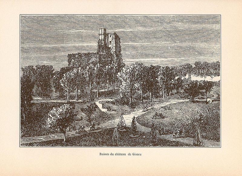 Les châteaux du département de Eure Gisors11