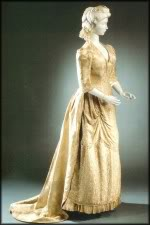 Robe de l'impératrice Elisabeth d'Autriche ( Sissi ) Golden10