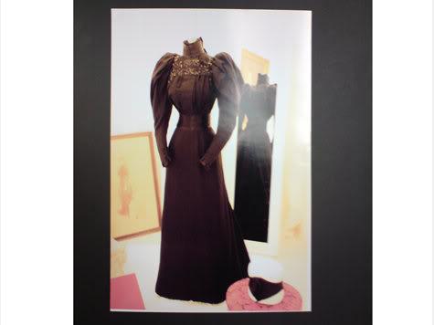 Robe de l'impératrice Elisabeth d'Autriche ( Sissi ) Gownve10
