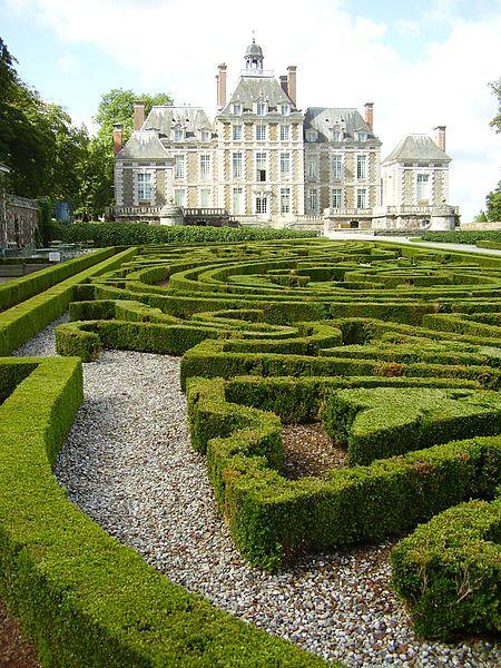 Les chateaux du Calvados Jardin13