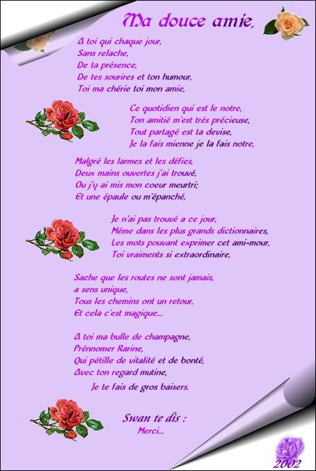 Poèmes d' Amitié Karine10