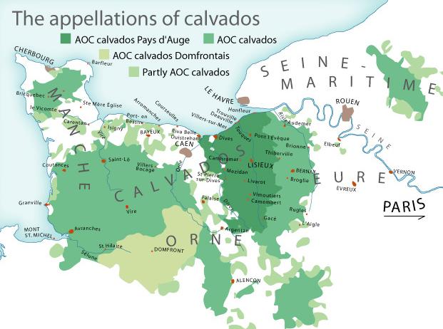 Produits Régionaux du Terroir  Map_ao10