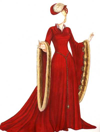 Robes du moyen ge - Dessins moyen age ...