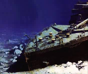 L'histoire du Titanic Proue11
