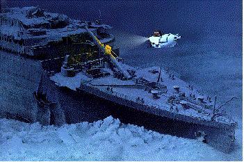 L'histoire du Titanic Proue311