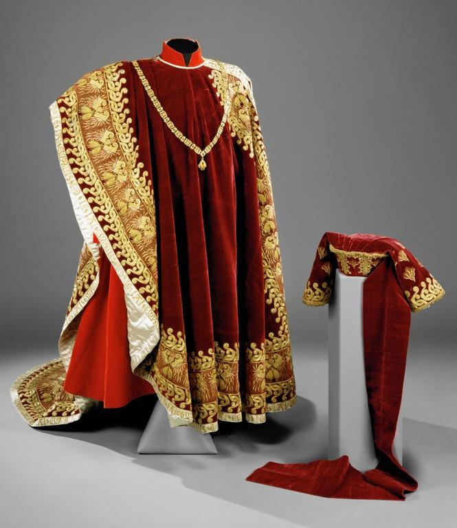 Robe de l'impératrice Elisabeth d'Autriche ( Sissi ) Robe_c10