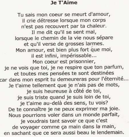 Poèmes Damour