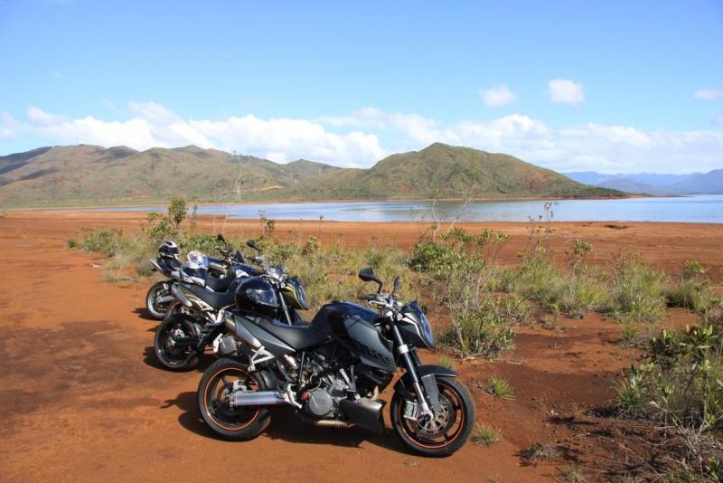 Balade à Moto dans le Sud de la Nouvelle-Calédonie Sortie14