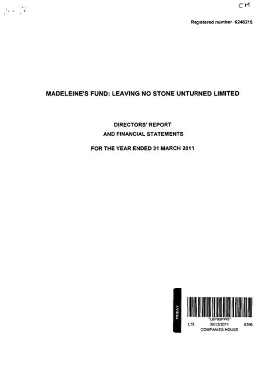 Fund accounts 2011 113