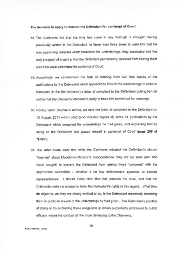 Isabel Hudson's Affidavit 1810