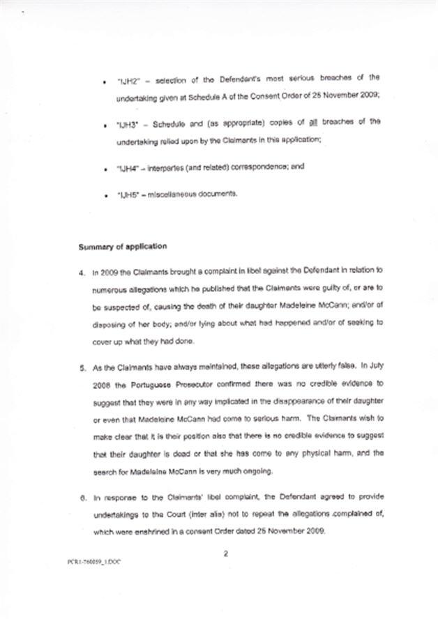 Isabel Hudson's Affidavit 211