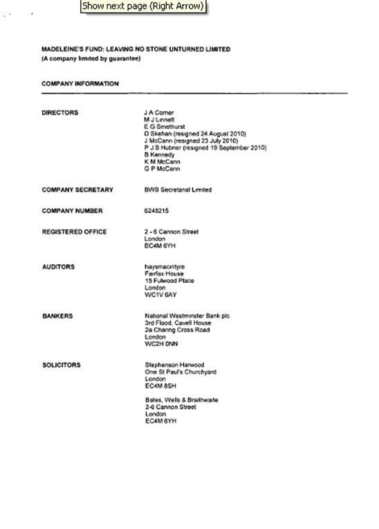 Fund accounts 2011 212