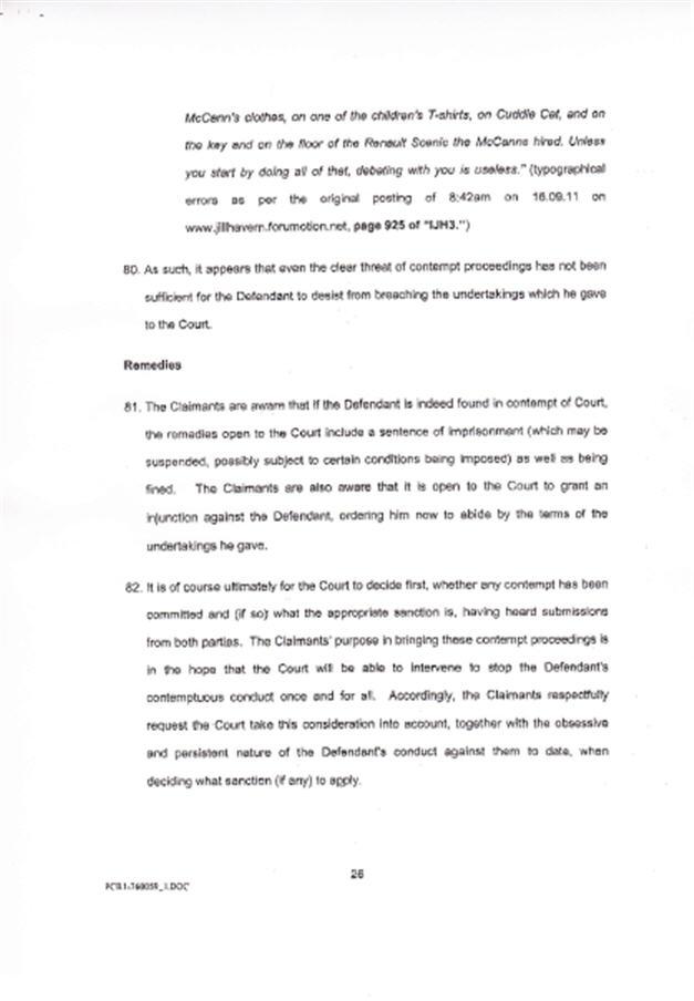 Isabel Hudson's Affidavit 2610