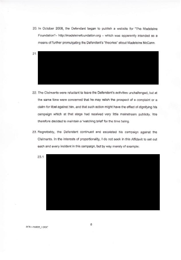 Isabel Hudson's Affidavit 611
