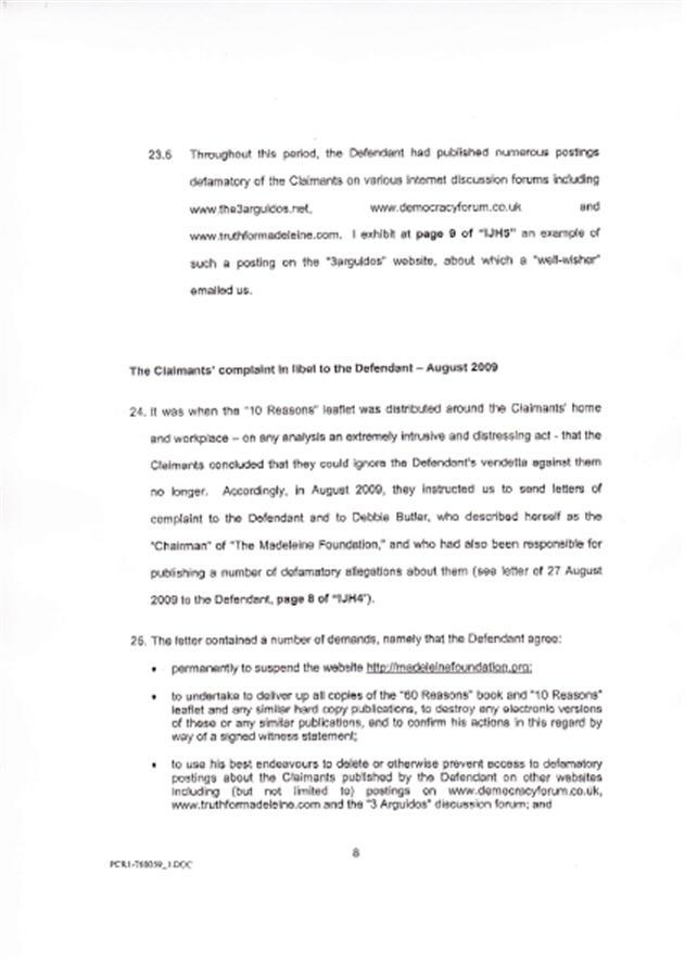 Isabel Hudson's Affidavit 810