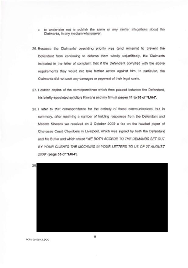 Isabel Hudson's Affidavit 910