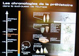 """Nouvelle expo """"Préhistoire : l'enquête"""" Chrono13"""