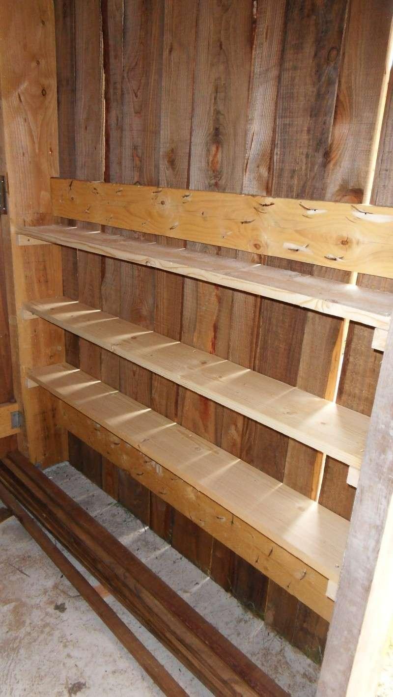 Fabrication d'un abris bois - Page 3 Sdc13911